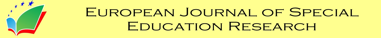 European Journal of Special Education Research